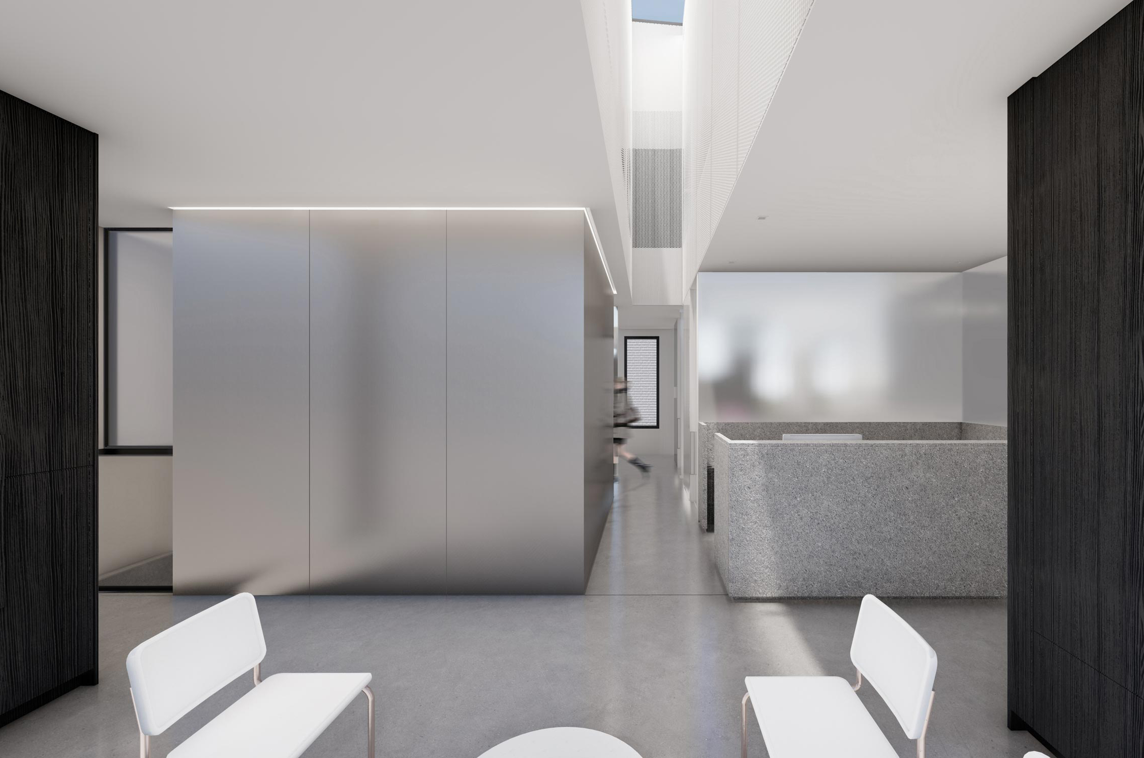 Dental clinic Outremont architecture project by naturehumaine architecture & design